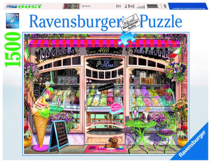 Puzzle gelateria 1500 pzas