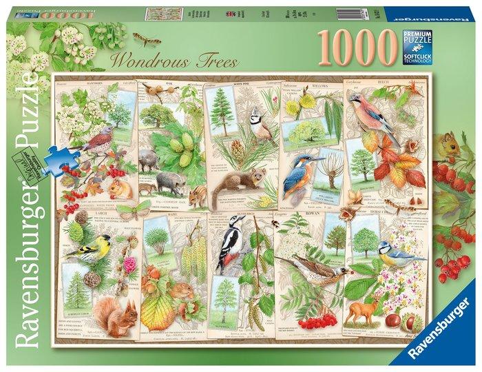 Puzzle 1000 p arboles maravillosos
