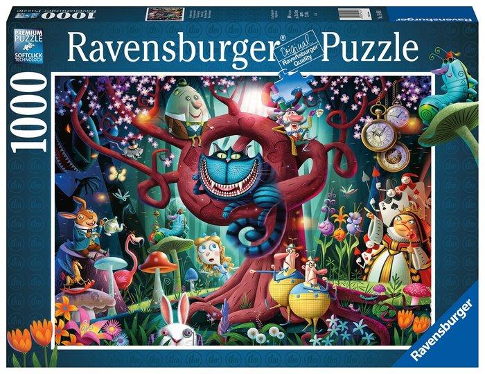 Puzzle todos estan locos aqui 1000 p