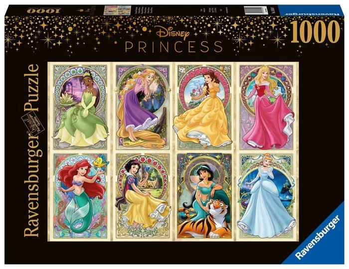 Puzzle 1000 pz princesas art nouveau