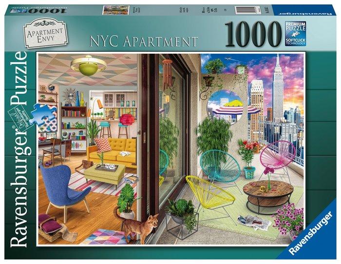 Puzzle 1000 pz apartamento en nyc