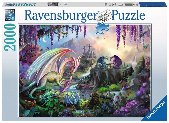 Puzzle 2000 p valle del dragon