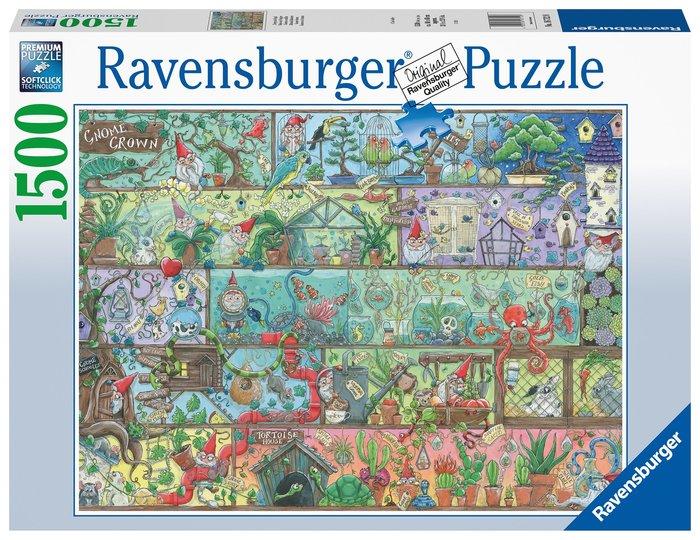 Puzzle 1500 pz gnomo en el estante