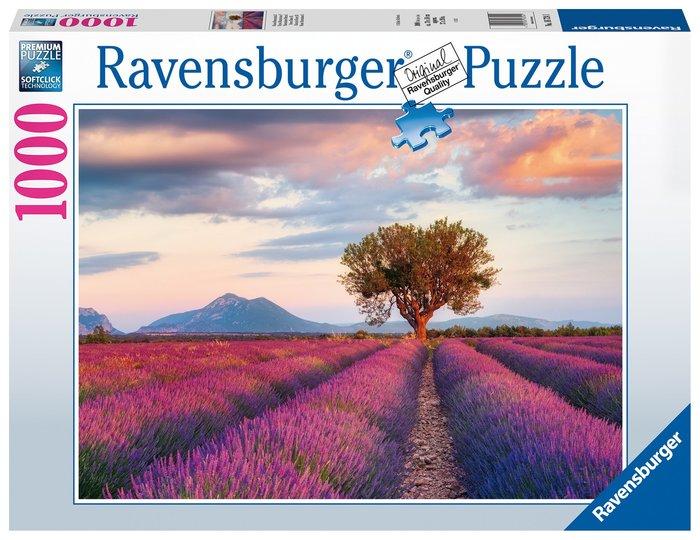 Puzzle 1000 pz campos de lavanda