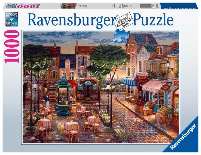 Puzzle 1000 pz pinceladas de paris