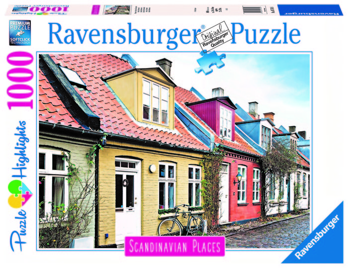 Puzzle 1000 pz aarhus, dinamarca