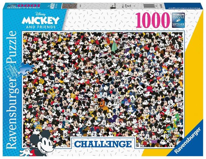 Puzzle 1000 pz challenge mickey