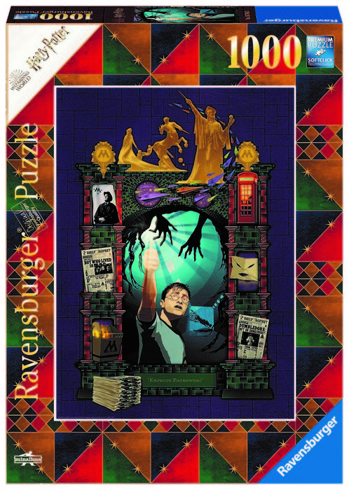 Puzzle 1000 pz harry potter e book edition