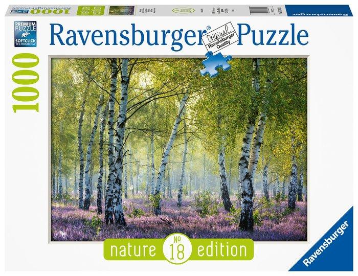 Puzzle 1000 pz bosque de abedules
