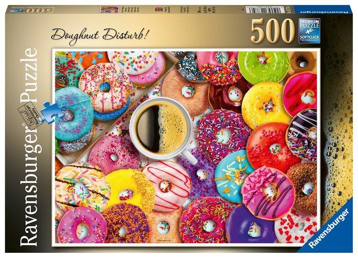 Puzzle 500 pz donas de colores