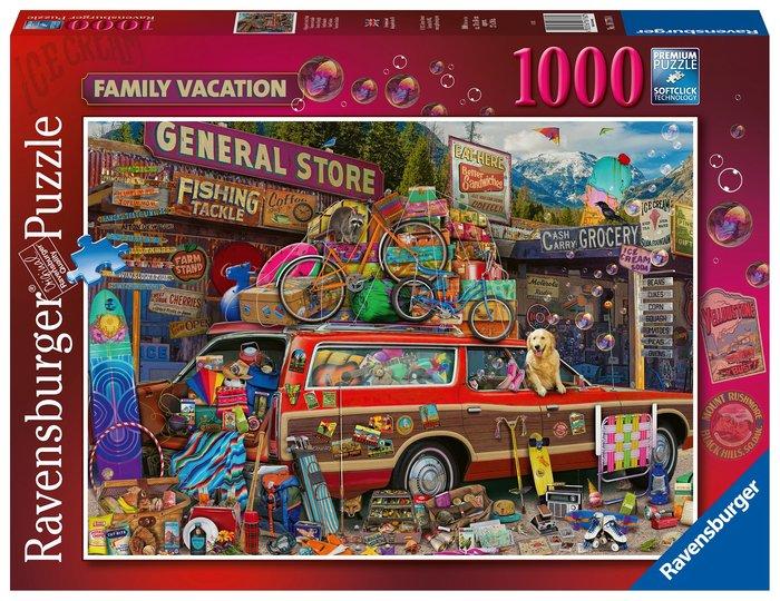Puzzle 1000 pz vacaciones familiares