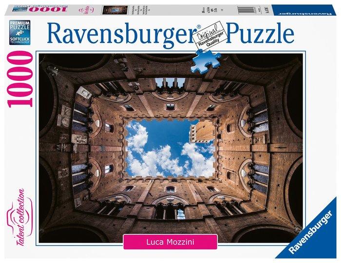 Puzzle 1000 pz talent collecition cortile del podesta palazz