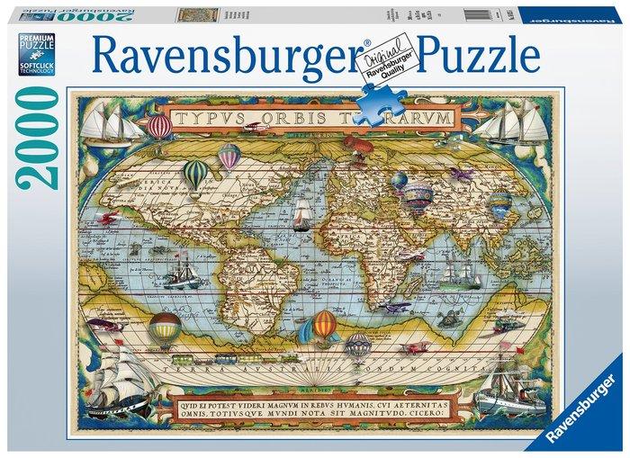 Puzzle 2000 pz alrededor del mundo