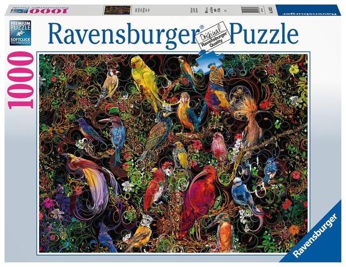 Puzzle 1000 pz aves de arte