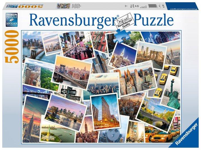 Puzzle 5000 p nueva york la ciudad que nunca duerme