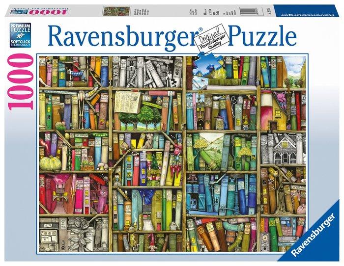 Puzzle 1000 p la biblioteca extraÑa