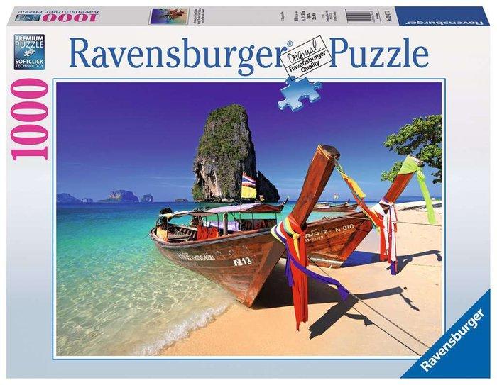 Puzzle 1000 p playa phra nang, krabi, thailandia