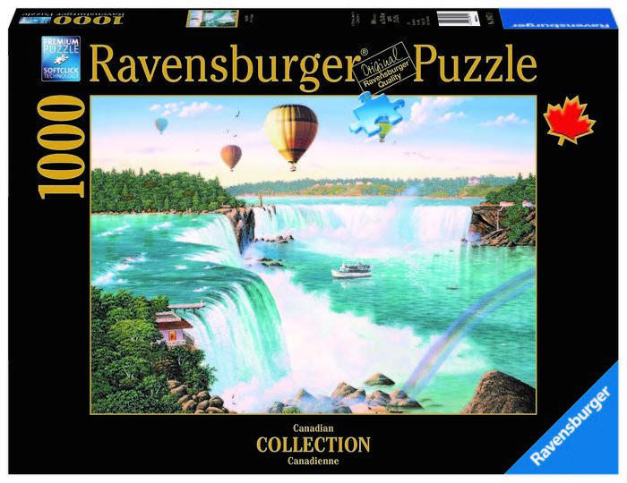 Puzzle ravensburger 1000pz  niagara falls