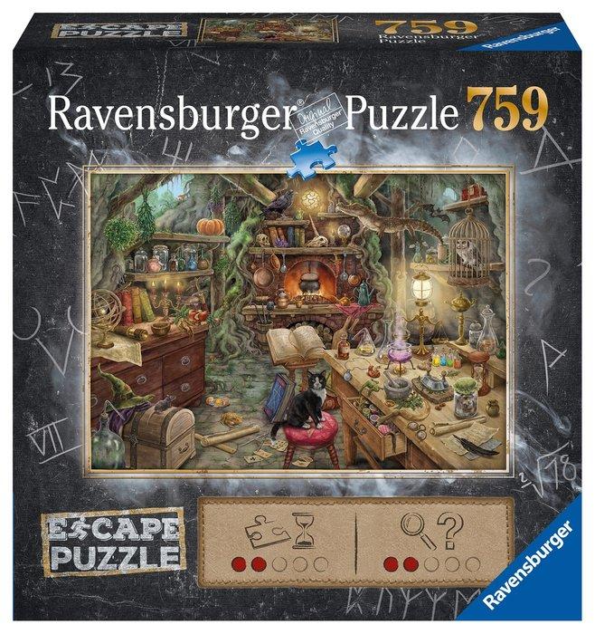 Puzzle escape the room 759p la cocina de la bruja