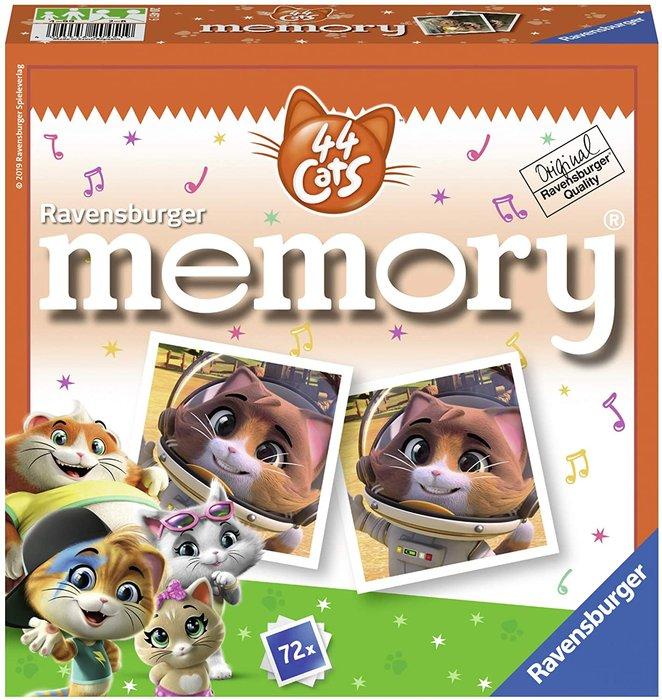 Juego memory 44 gatos