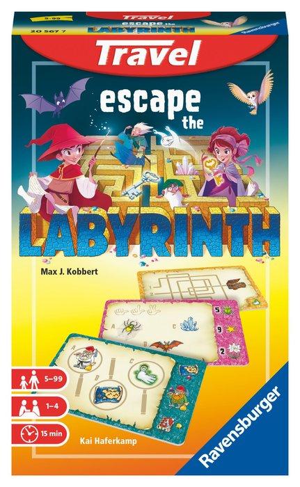 Juego de mesa escape the labyrinth