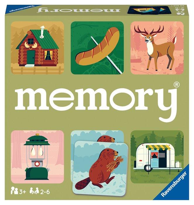 Juego de niÑos memory camping adventures