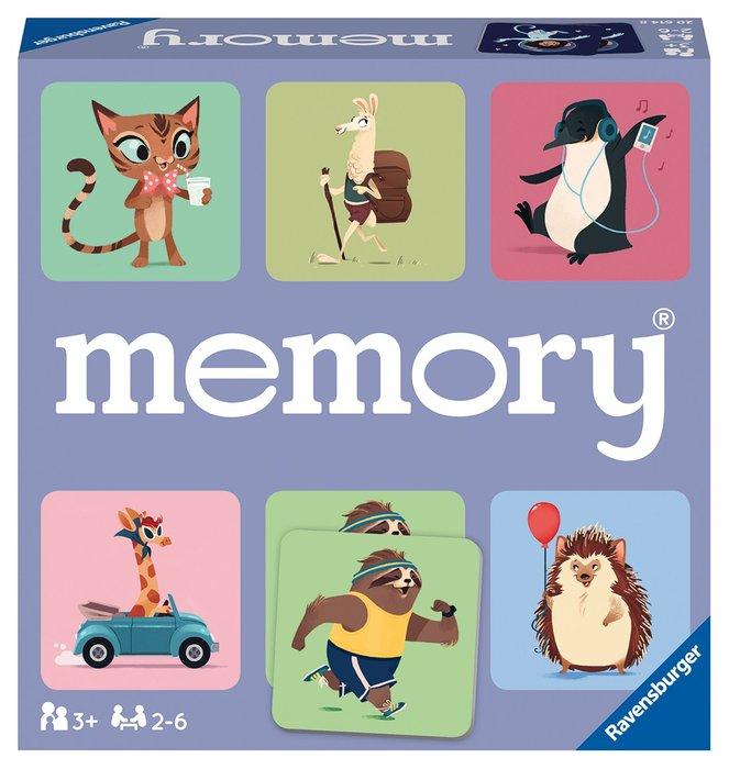 Juego de niÑos memory happy animals