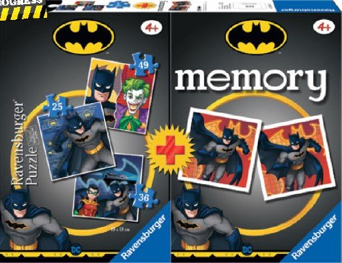 Multipack memory batman +3 puzzles