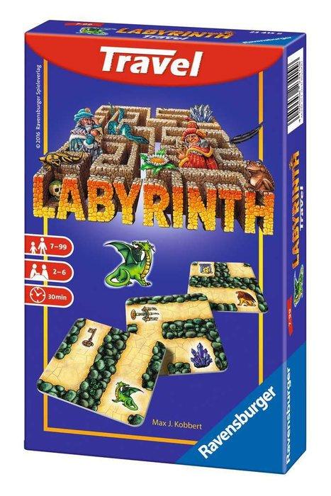Juego de mesa labyrinth travel