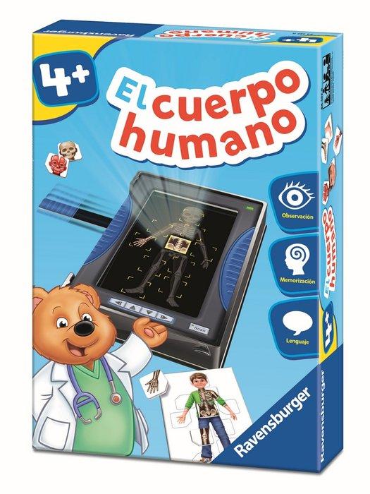 Juego educativo el cuerpo humano