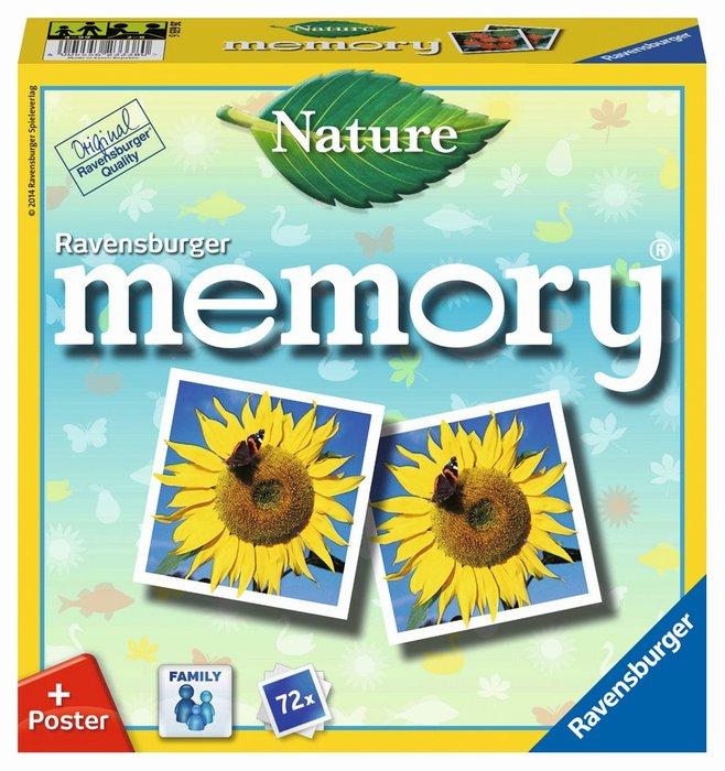 Juego de niÑos memory naturleza
