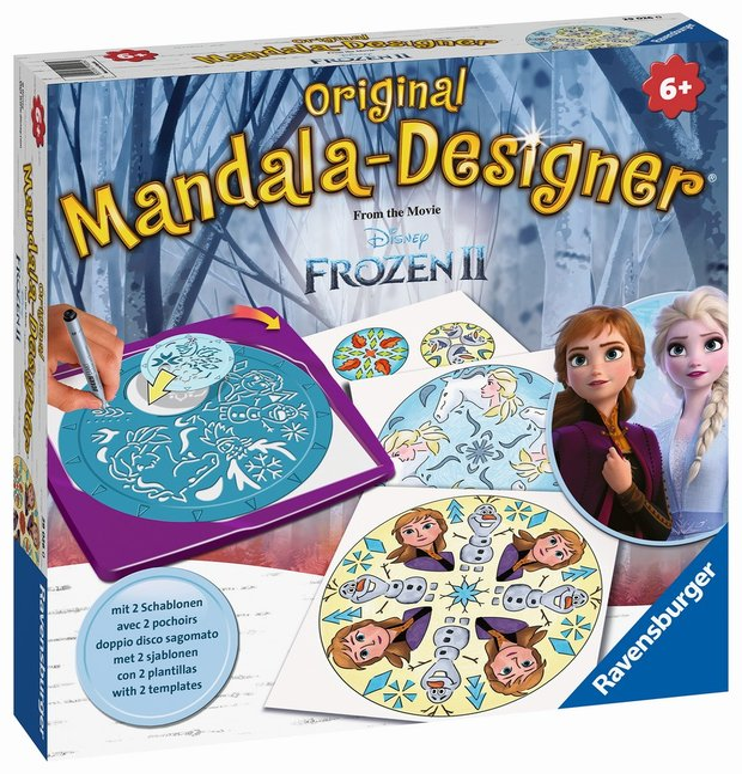 Juego creativo mandala designer  frozen 2