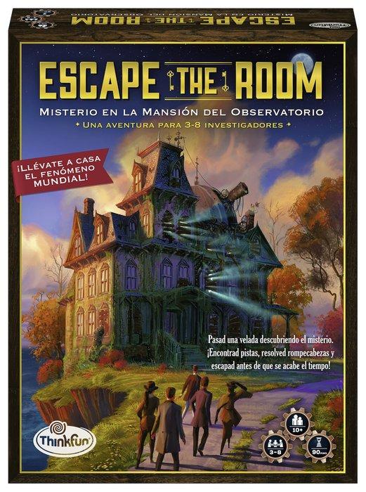 Juego escape the room misterio en la mansion