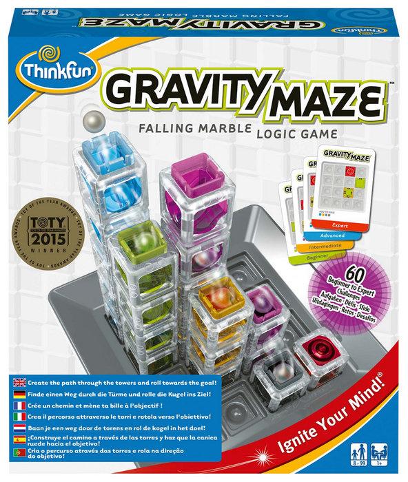Juego de logica gravity maze