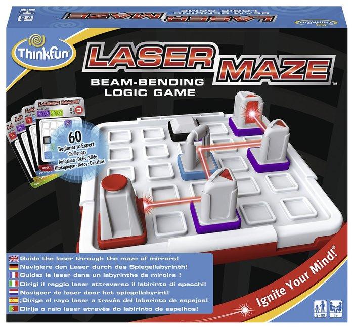Juego de logica laser maze