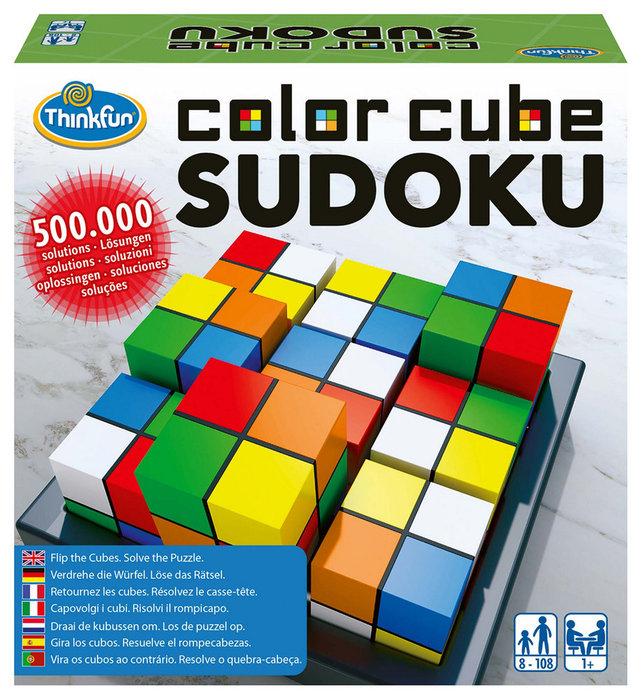 Rompecabezas color cubes sudoko