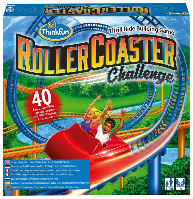 Juego de logica roller coaster challenge