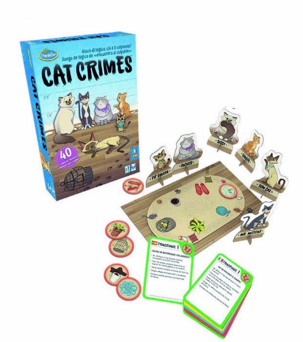 Juego de logica cat crimes