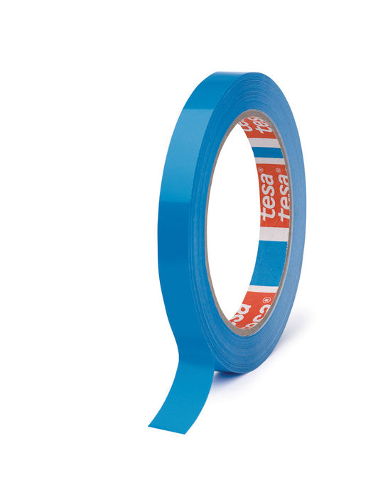 Cinta adhesiva 66x9 pvc cierra bolsas azul