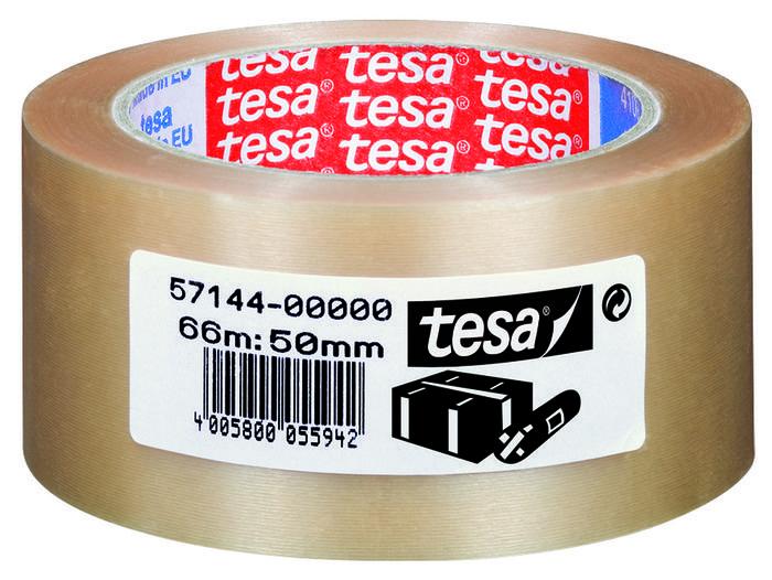 Cinta adhesiva 66x50 pvc rugoso torre transparente