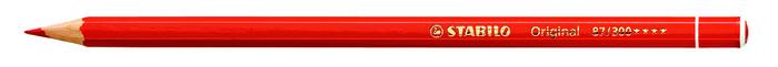 Lapiz stabilo original premium original rojo permanente