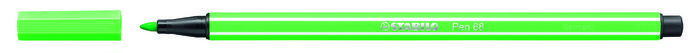 Rotulador stabilo premium pen 68 esmeralda claro