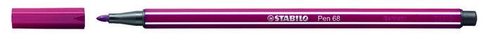 Rotulador stabilo premium pen 68 purpura