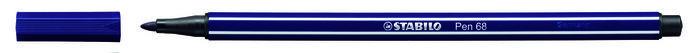 Rotulador stabilo premium pen 68 azul prusia