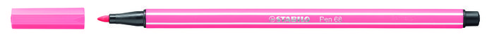 Rotulador stabilo premium pen 68 rosa claro