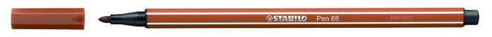 Rotulador stabilo premium pen 68 sanguina