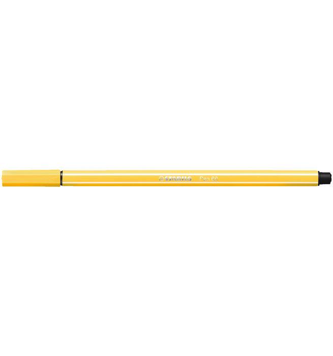 Rotulador stabilo pen 68 amarillo