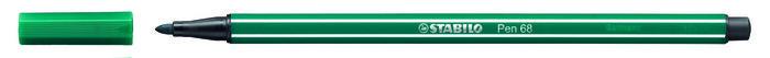 Rotulador stabilo premium pen 68 verde turquesa