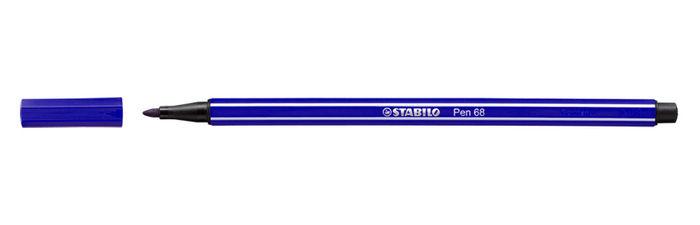 Rotulador stabilo pen 68 violeta
