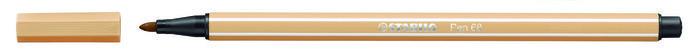 Rotulador stabilo premium pen 68 ocre claro